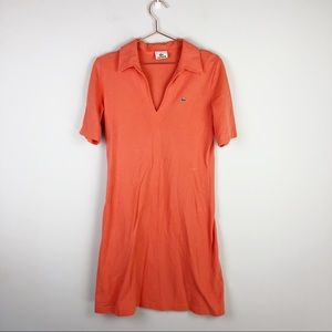 Lacoste V neck Polo dress